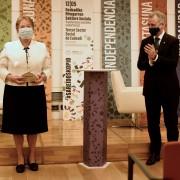 Mª Ángeles Lehendakariarekin